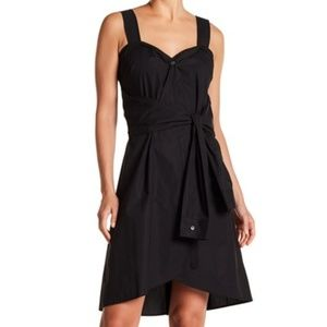 New Derek Lam 10 Crosby Black Sleeveless Dress 4
